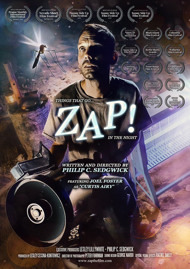 ZAP! Poster with Laurels